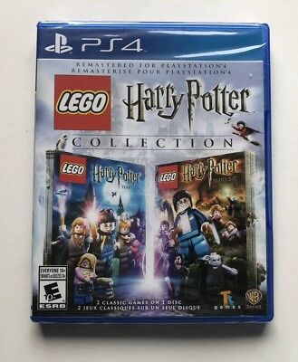 LEGO Harry Potter Collection (Sony PlayStation 4, 2016) Brand New! SEALED!