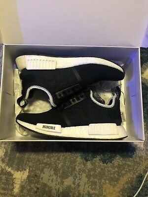 ADIDAS X NBHD Neighborhood NMD R1 Core Black Size Mens 13