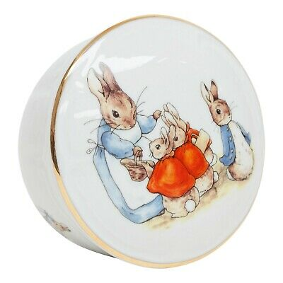 Reutter Beatrix Potter Peter Rabbit Collectable Porcelain Box