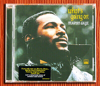 MARVIN GAYE - WHAT'S GOING ON    Deluxe EU Edition  2CD Remastered  SEALED