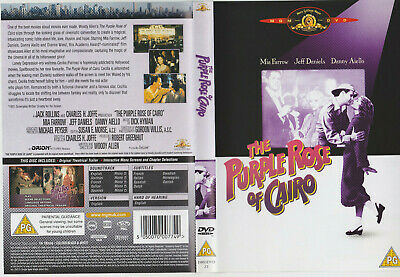 Dvd Zone 2- Purple Rose Of Caro - Rose Pourpre Du Caire - Francais Eng