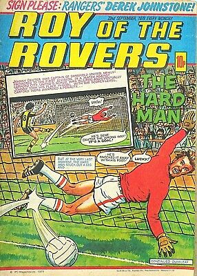ROY OF THE ROVERS - 22nd SEPT 1979 (17- 23 Sep) RARE 40th BIRTHDAY GIFT !! beano