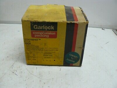 Garlock 8909 synthepak 3/8 compression packing 2 lbs