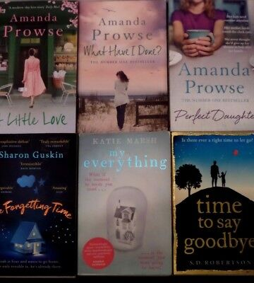 AMANDA PROWSE & MIXED AUTHORS BUNDLE OF 6 x PAPERBACK BOOKS - PERFECT DAUGHTER