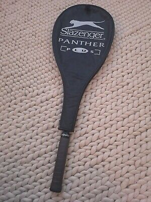 Slazenger Panther Plus 460 Squash Racket. New grip tape, with cover