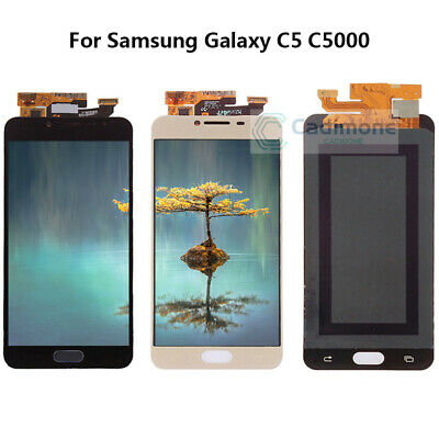 For Samsung Galaxy C5 C5000 LCD Glass Display Touch Screen Digitizer Assembly BT