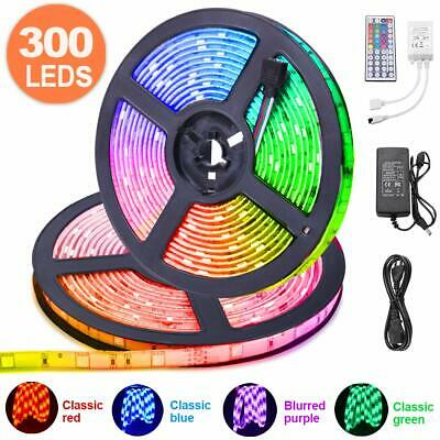 10M RGB Tira de LED 12V con Chip SMD 5050, ESEYE IP65 Impermeable Flexibles