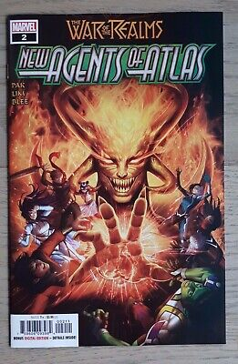 The War Of The Realms New Agents Of Atlas #2 Cover A Sold Out Hot!!! Nm!!!