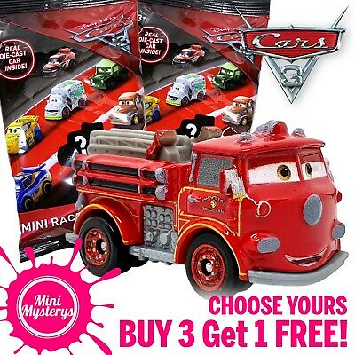 Disney Pixar Cars 3 Mini Racers *CHOOSE YOURS* Diecast Mini Vehicles Blind Bags