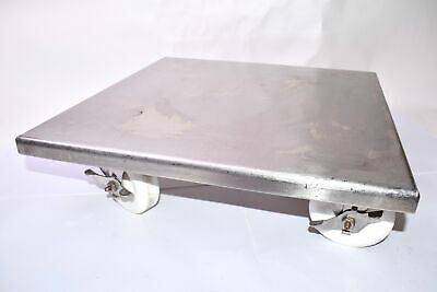 Stainless Steel Sanitary Bucket Cart, 18 x 18