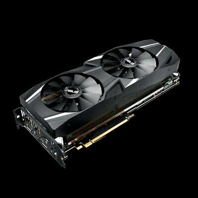 ASUS GeForce RTX 2080 8GB O8G OC GDDR6 DUAL-RTX2080-O8G Video Graphics Card GPU