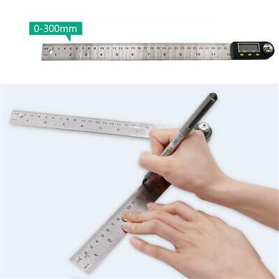 "Woodworking 12"" Digital Angle Ruler Meter Protractor nclinometer Goniometer"