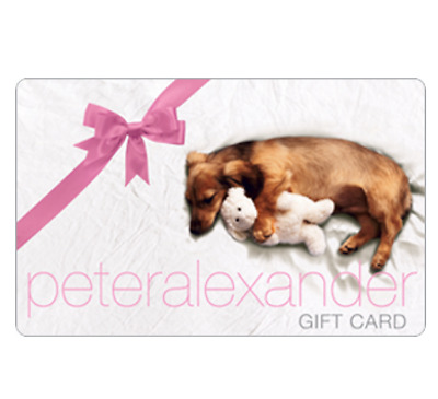 Peter Alexander Card $25 $50 or $100 - Emailed
