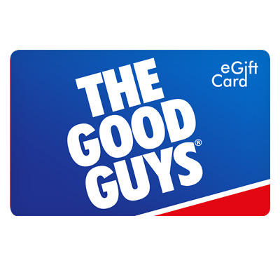 The Good Guys Gift Card $50 or $100 & $250 - Email Delivery