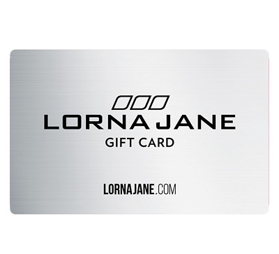 Lorna Jane Gift Card $20, $50 or $100 - Email Delivery