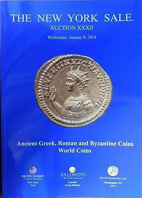 The New York Sale Auction XXXII Ancient Roman Greek Byzantine World Coin 2014