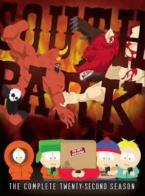 South Park: Season 22 Dvd - The Complete Twenty-Second Season [2 Discs] - New