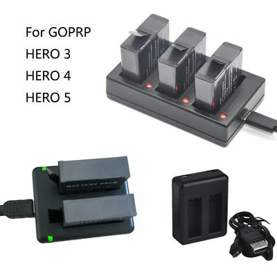 Battery Charger Cradles For Camera GoPro Hero 3 4 5 AHDBT201 301 401 501
