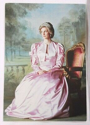 H.R.H. Diana The Princess of Wales Postcard Vintage Collectible Britain Royalty