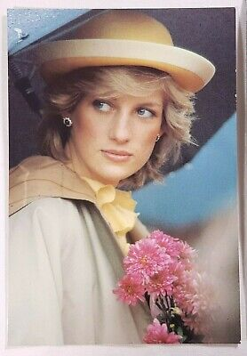 Lady Diana Princess of Wales Postcard Vintage Britain Royalty Collectible Retro