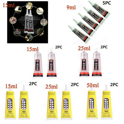 New B6000-7000/E8000 Adhesive Permanent Glue For Phone Frame Bumper Jewelry Shoe