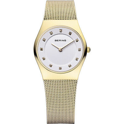BERING Classic Slim Watch With Scratch Resistant Sapphire Crystal 11927-334. Des
