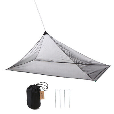 Lixada Ultralight Mosquito Repellent Insect Bugs Shelter Pyramid Mesh Net H5I4