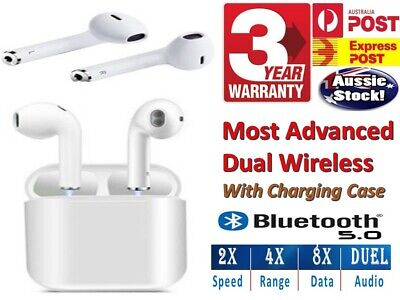 Wireless Bluetooth Headphones Airpods for iPhone Android Noise Cancelling AUSSIE