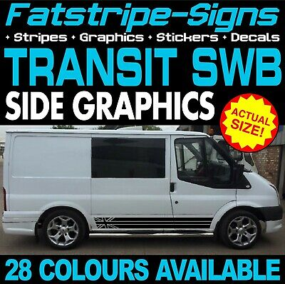 Ford Transit Swb Graphics Stickers Stripes Decals Day Van Camper St Sport 2.0 D