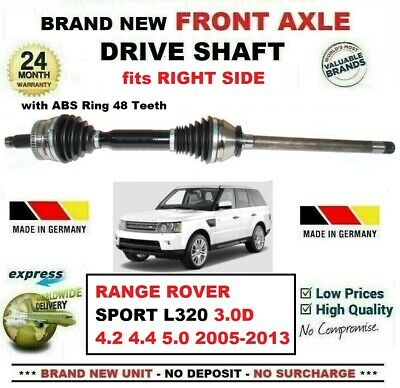 Range Rover Sport L320 Drivers Side Rear DRIVESHAFT Offside Right 2005-2013