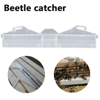1Pc 7'' Hive Beetle Durable Trap Beekeeping Apiary Bee Hive Protector Equipment