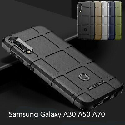 For Samsung A50 Case A30 A70 A20E M10 Luxury Slim Rubber Shockproof Bumper Cover
