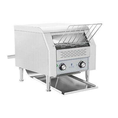And Fast Stainless Steel 2200W Buffet Conveyor Bread Toaster Large