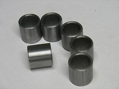Metric Steel Bushings /Spacer/Sleeve 25 MM OD X 16 MM ID X 25 MM Long 2 Pcs