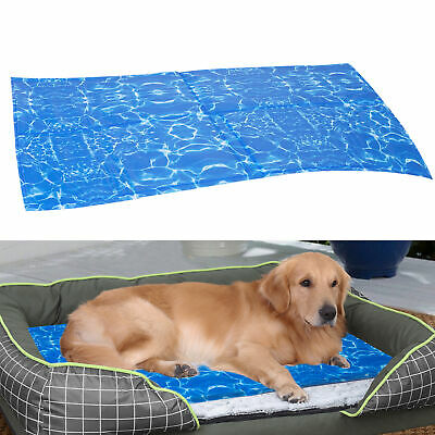 Dog Cooling Mat Cool Chilled Extra Large for Summer Sleeping Beds Kennels Crates