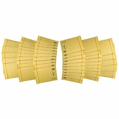 50 Pack Padded Mail Bags Envelopes Gold Mail Lite 180mm x 260mm D/1 DVD