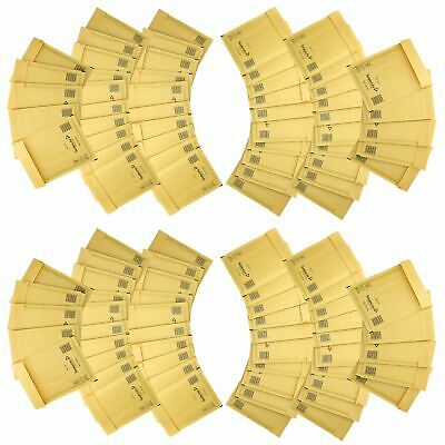 100 Pack Padded Mail Bags Envelopes Gold Mail Lite 150mm x 210mm C/0