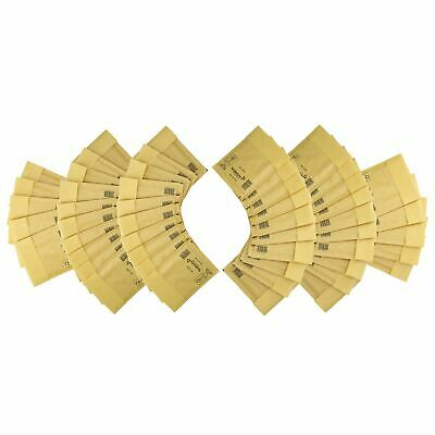 50 Pack Padded Mail Bags Envelopes Gold Mail Lite 110mm x 160mm A/000