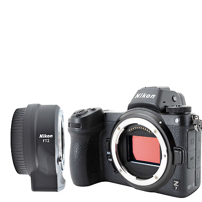 New NIKON Z7 Mirrorless Digital Camera with FTZ Mount Adapter Kit