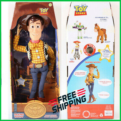 Toy Story Talking Woody Doll Action Toy Figures Kids Pull String Boy Girl Toys