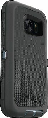 OtterBox Defender Case for Samsung Galaxy S7 (NO Clip) Easy-Open Box - Grey/Blue