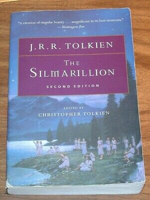 J.R.R.TOLKIEN The Silmarillion 2nd ed.PRE-LORD OF THE RINGS  Christopher TPB PB