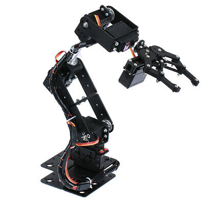 DIY Hot Smart 6-Dof Robot Mechanical Arm Servo Controlled Robotics Kits