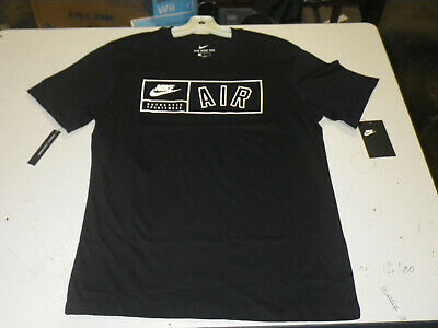 8d67cd46 Nike Air Authentic Sportswear Black Tee Shirt Size Medium New With Tags!
