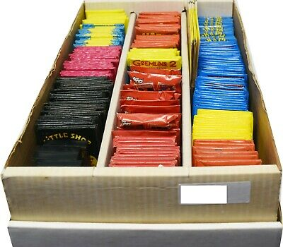 Lot Of (228) Non-Sports & Comics Trading Cards Factory Sealed Wax Packs BC553