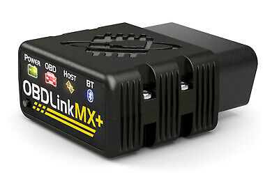 OBDLink MX+ Bluetooth OBD2 Scanner, Trip-Logger and Vehicle Data Monitor