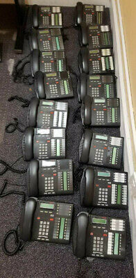 16 x Nortel Norstar Networks T7316 Business Telephone, 16 Lines, Charcoal