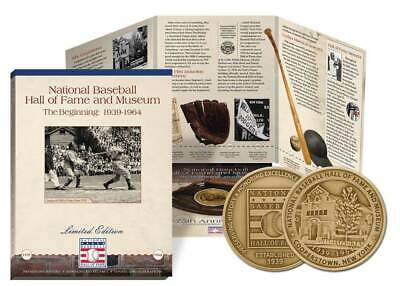 National Baseball Hall of Fame Challenge Coin Cooperstown