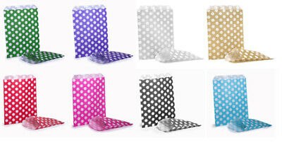 Polka Dots Sweetie Birthday Party Goody Candy Sweety  Paper Bag, Bags ⭐⭐⭐⭐⭐