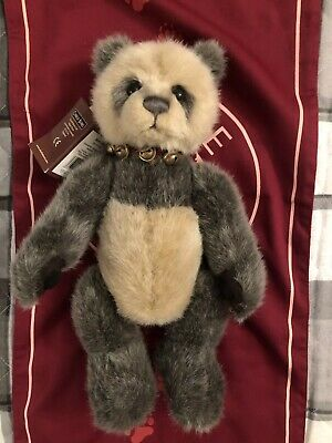 Bears Collective Charlie Bear Audley Up-To-Date Styling Manufactured